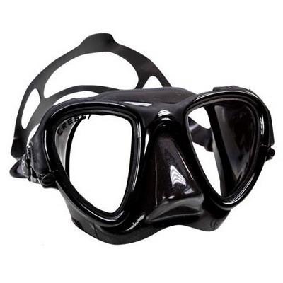 Маска подводная CressiSub OCCHIO PLUS black (черный силикон)
