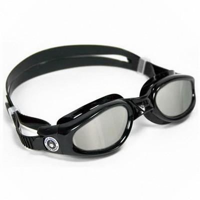 Очки для плавания AquaSphere KAIMAN Black зеркальные линзы