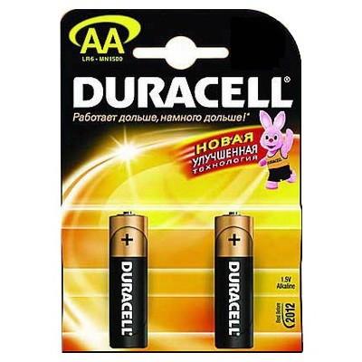 Батарейка AA (R06) Duracell