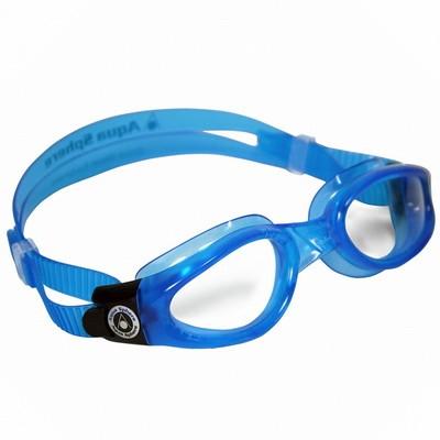 Очки для плавания AquaSphere KAIMAN JUNIOR Light Blue прозрачные линзы