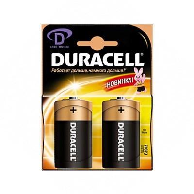 Батарейка D (R20) Duracell
