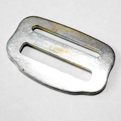 Пряжка двухщелевая DS50 металл (цинк)
