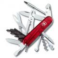 Нож Victorinox CYBER TOOL 34мм полупрозрачный красный