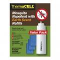 Набор ThermaCell (4 газовых картриджа + 12 пластин) с запахом прелой листвы