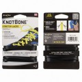 Шнурки NiteIze KNOT BONE STRETCH LACELOCK 2шт черные