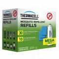 Набор ThermaCell MEGA REFILL (10 газовых картриджа + 30 пластин)