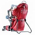 Рюкзак для переноски детей Deuter KID COMFORT II cranberry/fire